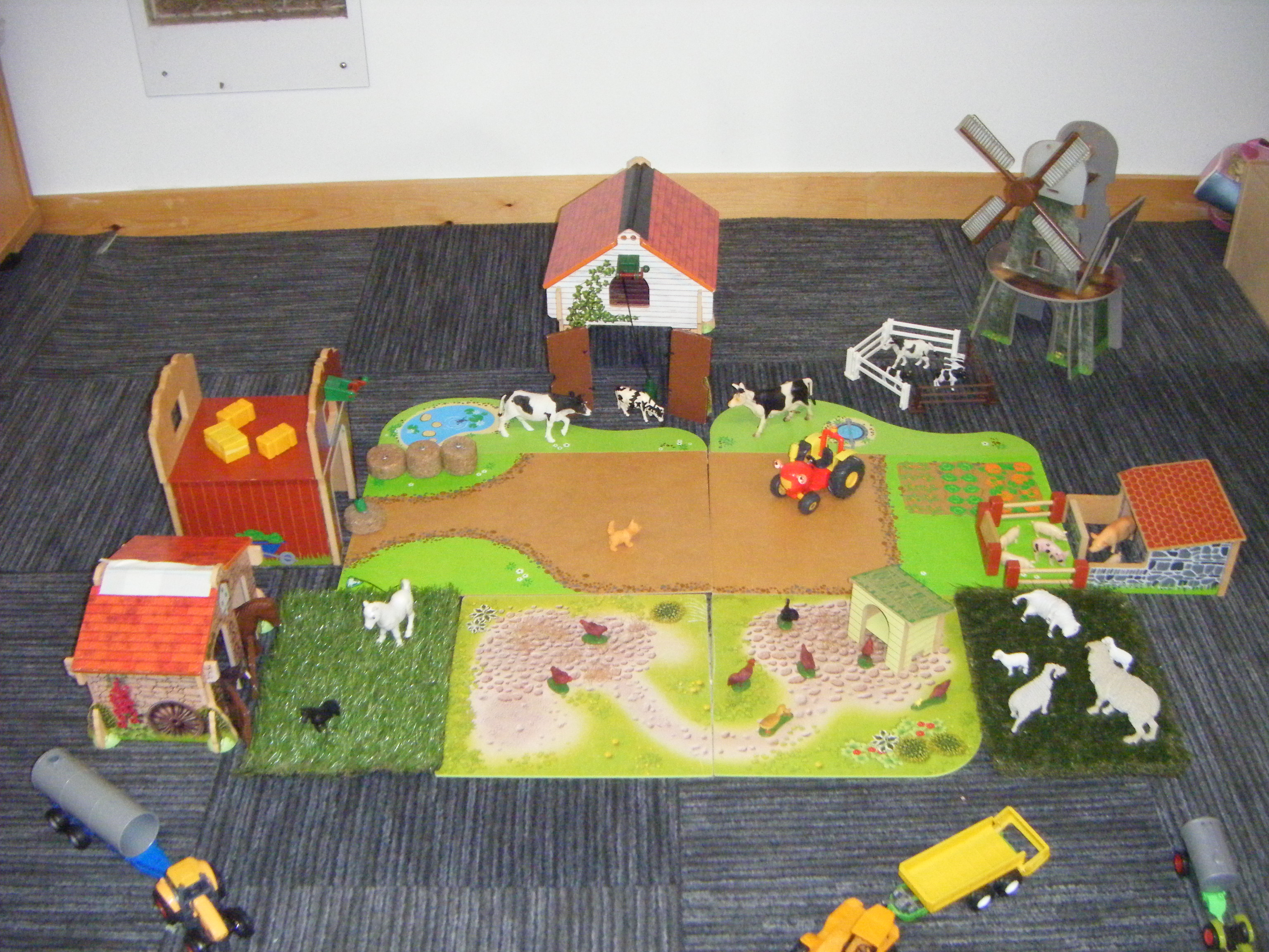 Farm yard - small world play