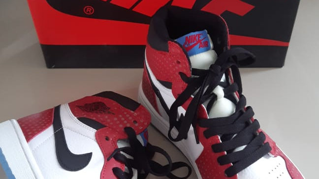 Jordan Spiderman limited edition