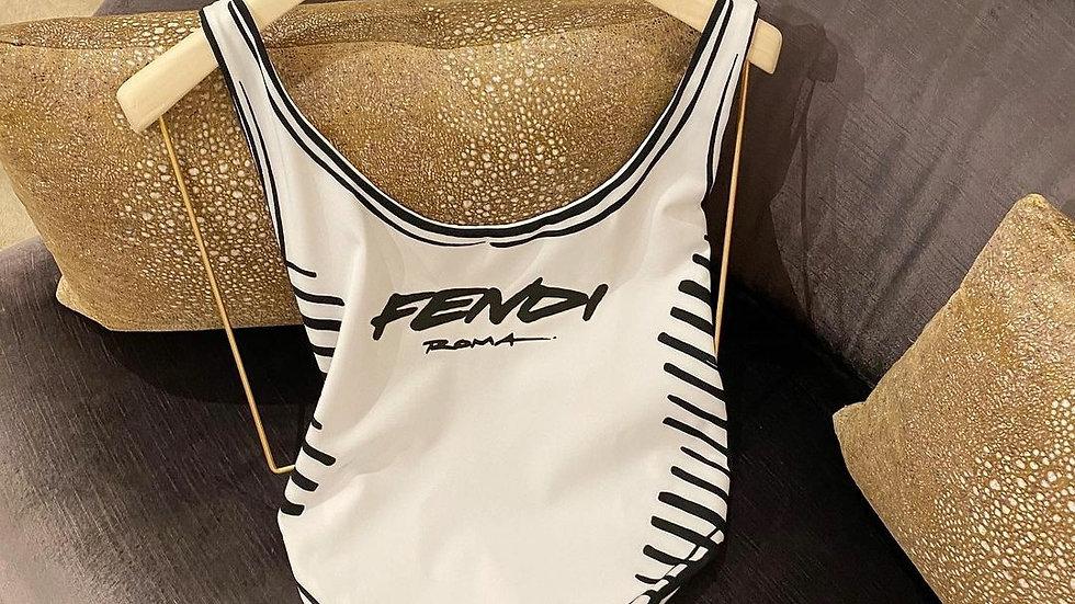 Fendi body swim suit