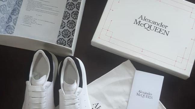 Alexander McQueen sneakers leather 42
