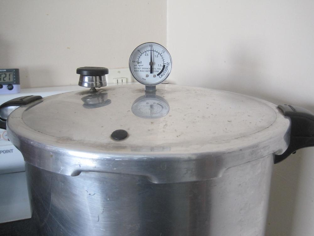 Pressure Canner, ten pounds, Apple Prairie Farm