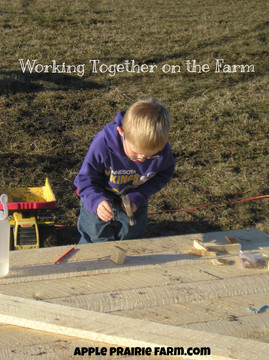 Working Together On The Farm