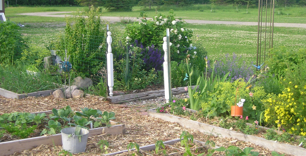 raised beds, square foot gardening, edible landscaping
