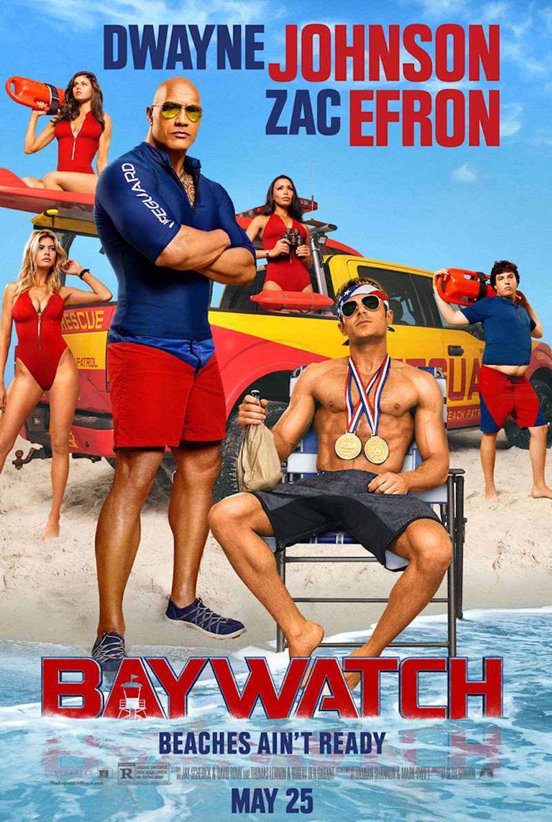 Baywatch official poster