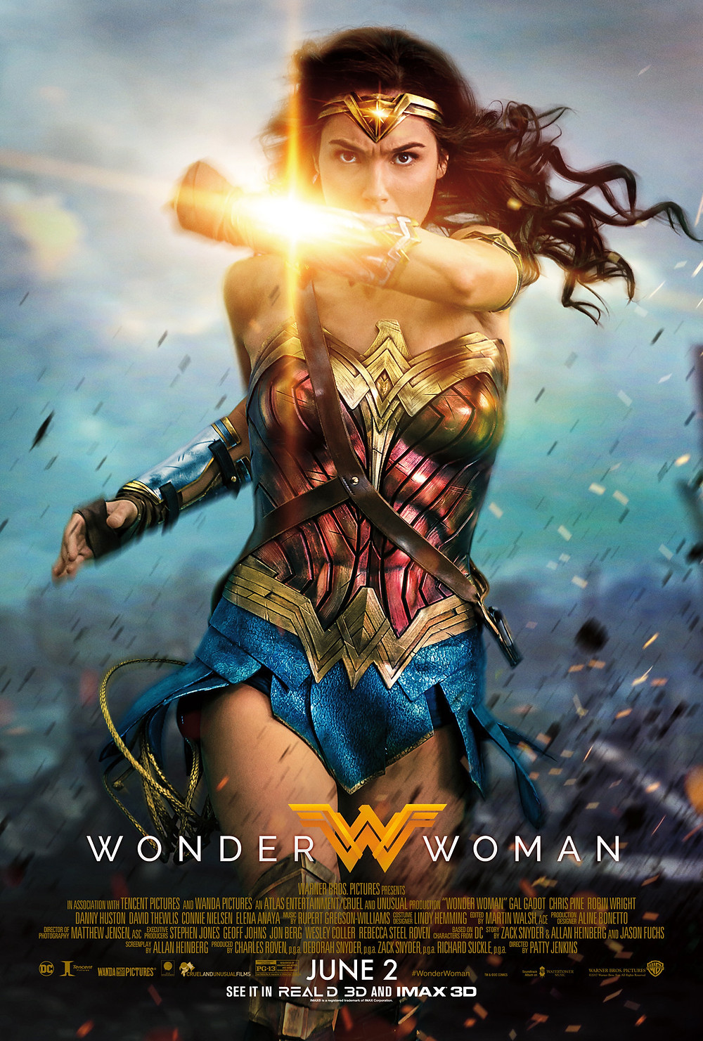 Wonder Woman Official Poster