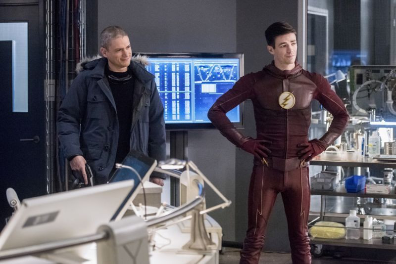 The Team up between flash and snart is worth watching
