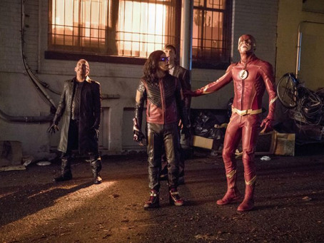 "The Flash Season 4 Episode 4 "" Elongated Journey into Night "" Review"