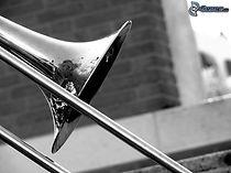 trombone,-black-and-white-photo-239656.j