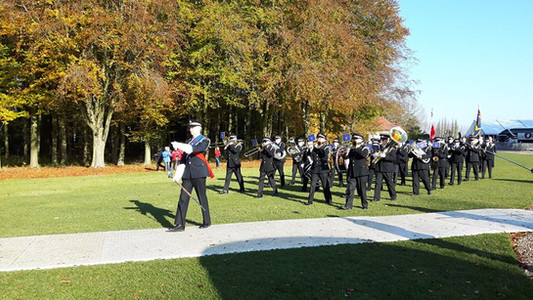 Marching Band at Thiepval 2017