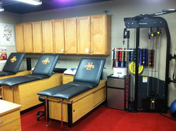 Rehab and treatment area