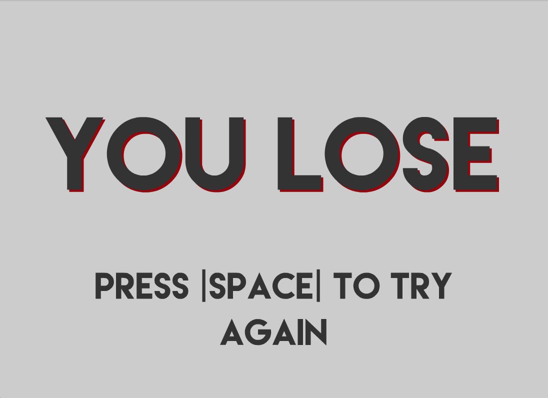 Lose Screen