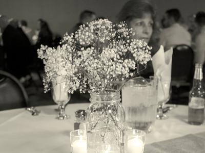 Fountain Hall table setting