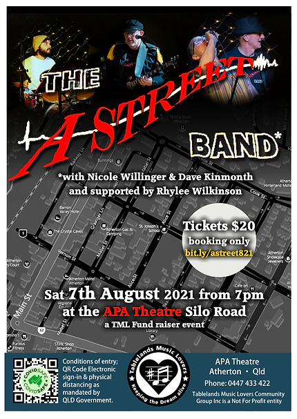 7th August 2021 - AStreetBand + Rhylee Wilkinson - flyer.png