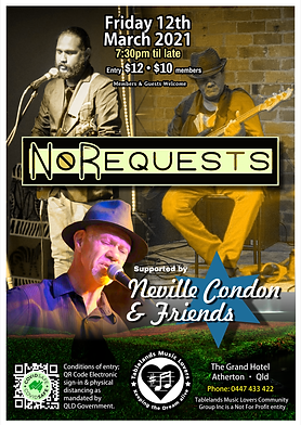 12th March 2021 - NoRequests+NC&Friends.