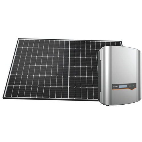 6.6 kw  SOLAR SYSTEM (4.8kw hour battery)