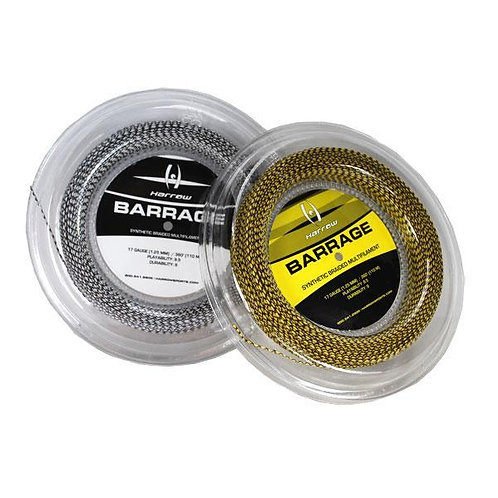 Harrow Barrage Squash String, 17 Gauge, 360' Reel