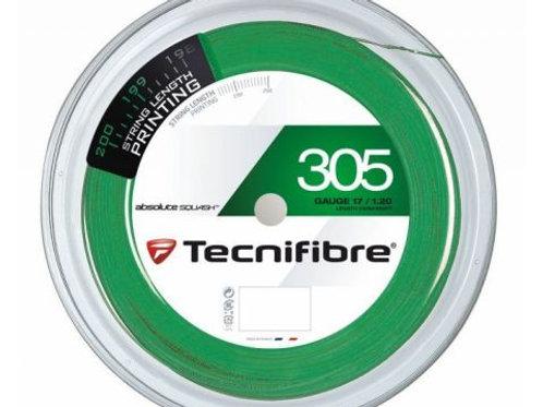 Technifibre 305 Squash String, 17 Gauge, 110m Reel