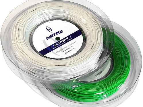 Harrow Victory Squash String, 17 Gauge, 220m Reel