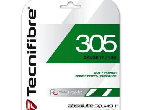Technifibre 305 Squash String, 17 Gauge, Single Pack