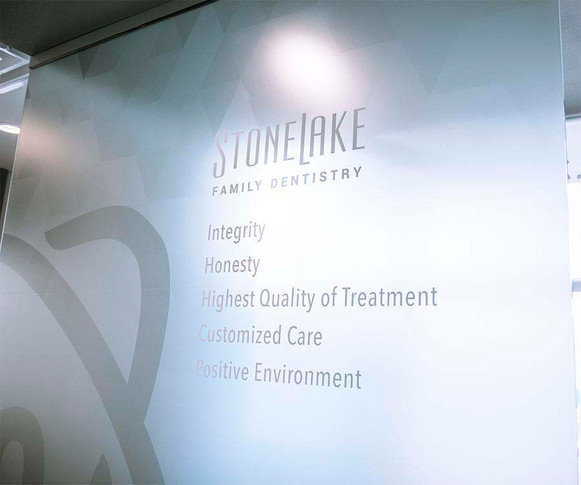 Stonelake Family Dentistry frost decal with printing.jpeg