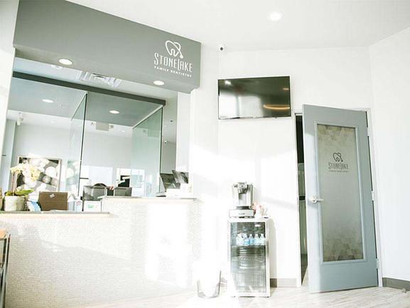 Stonelake Family Dentistry Reception Interior Design.jpeg
