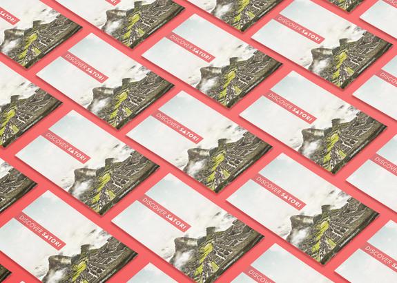 Discover Satori Business Cards