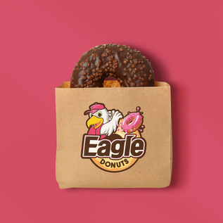 EAGLE DONUT BRAND IDENTITY