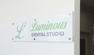 Luminous Dental Studio Interior design /  brand theme