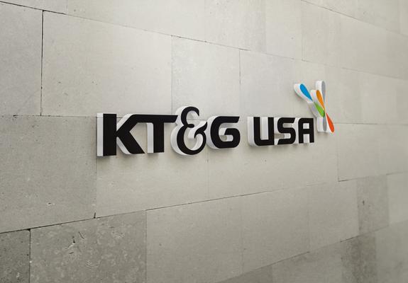 KT&G indoor sign
