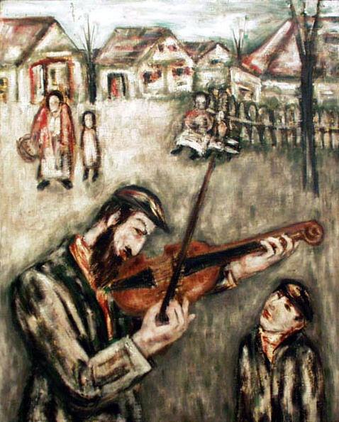 JDK artwork, music in the shtetl