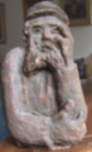 Sculpture, Kirszenbaum, 1945, Le Penseur