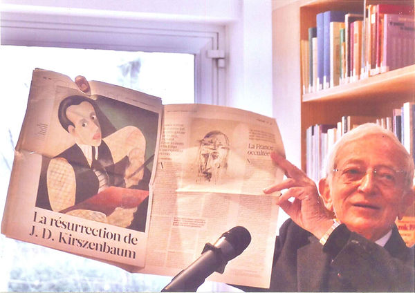 Nathan Diament, reserche, Jechezkiel David Kirsenbaum, Kirszenbaum