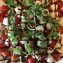 Tomate-Mozzarella Frühstück Frühstücksbuffet