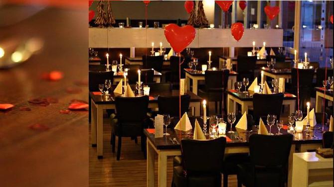 Valentinstag Candle Light Dinner am 14.02.2015