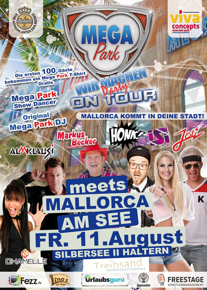 Mega Park on Tour meets Mallorca am See 11.08.2017