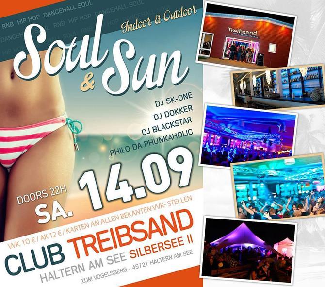 Soul&Sun - RnB, HipHop, Reggae, Dancehall am 14.09.2013