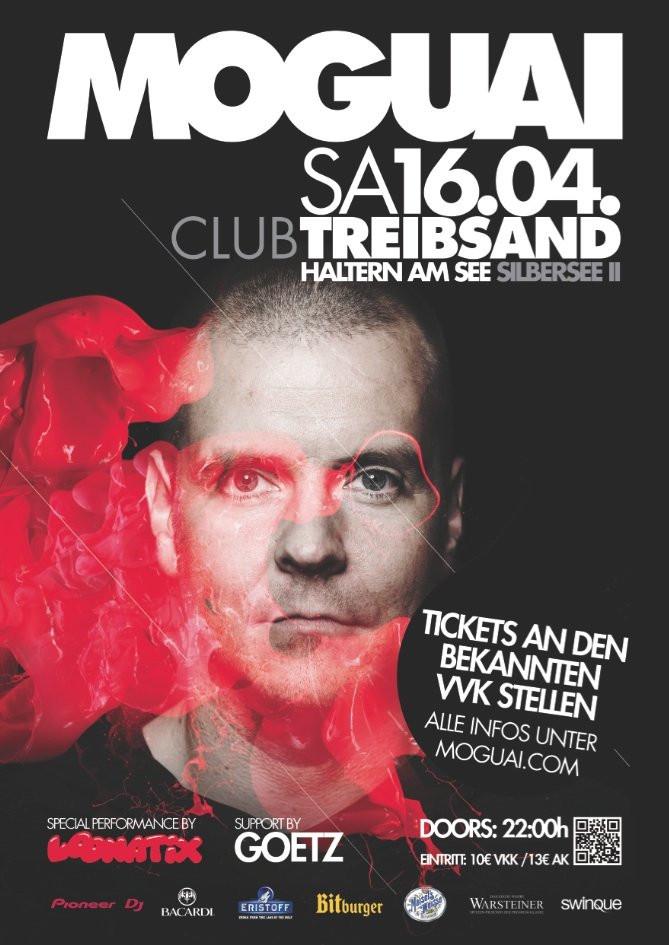 Moguai @ Club Treibsand am 16.04.2011