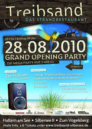 Treibsand Grand Opening Party 28.08.2010