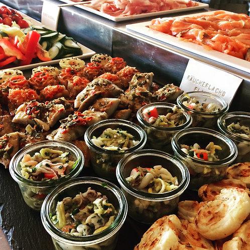 Gutschein für unser mediterranes Frühstücksbuffet am Sonntag für eine Person