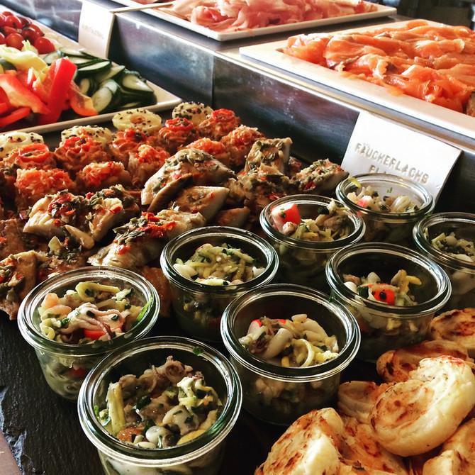 Mediterranes Frühstücksbuffet am Mi. 03.Oktober