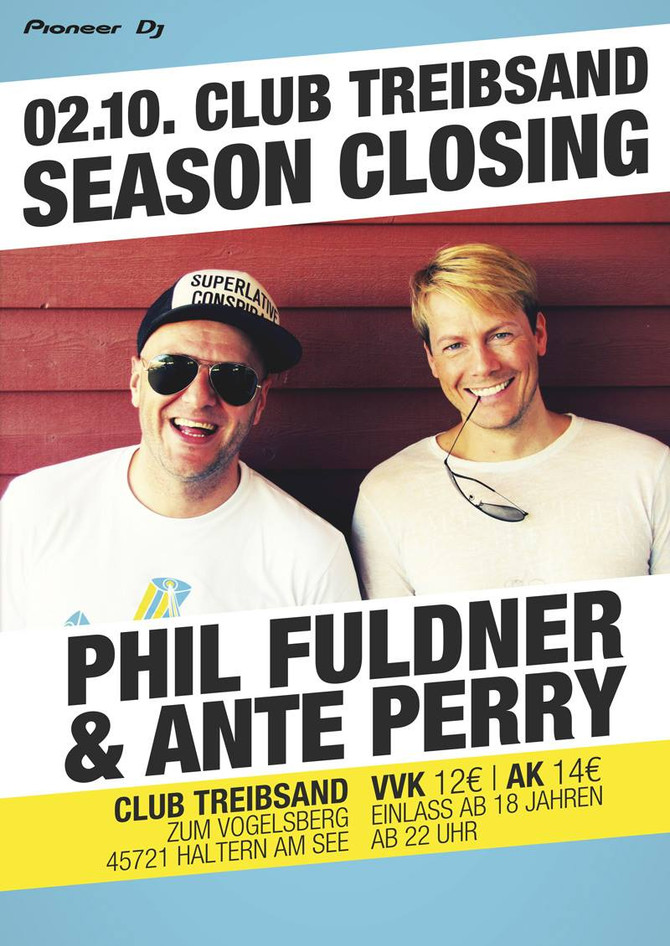 Phil Fuldner & Ante Perry All Night long - Vorfeiertag 02.10.2014