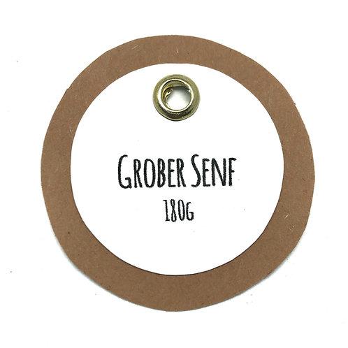 Hausgemachter grober Senf (scharf)