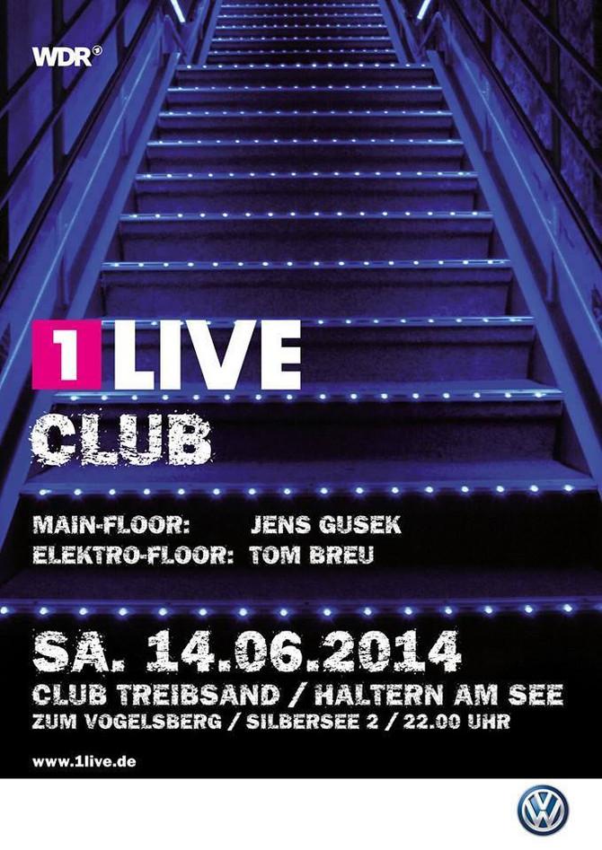 1Live Club Party am 14.06.2014