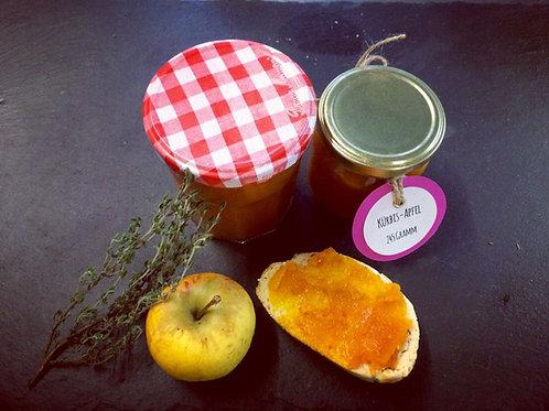 Hausgemachte Kürbis-Apfel Marmelade