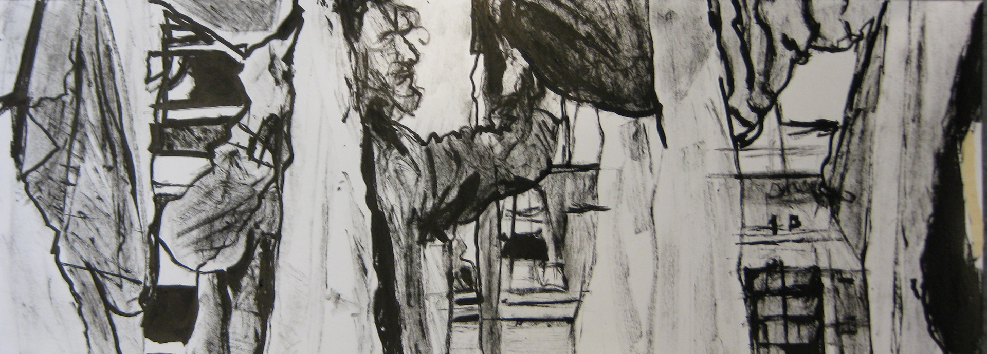 Ink drawing