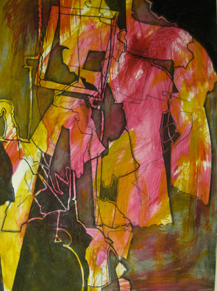 Still Life Installation abstraction