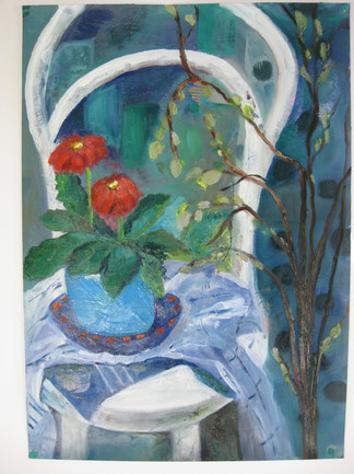 Painting from still life