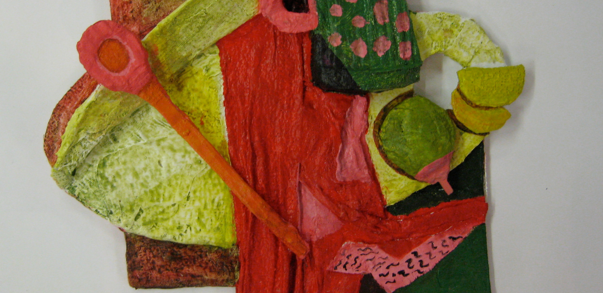 Low-relief panels and objects 1