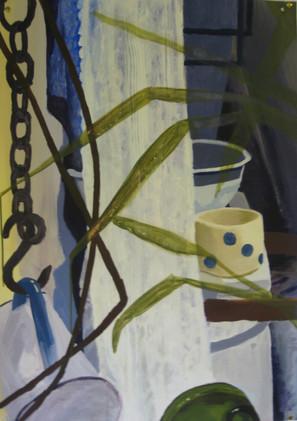 Still Life Installation painting