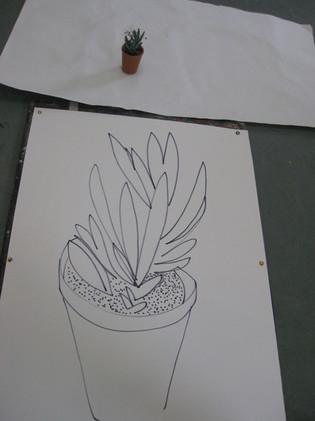 Experimental drawing